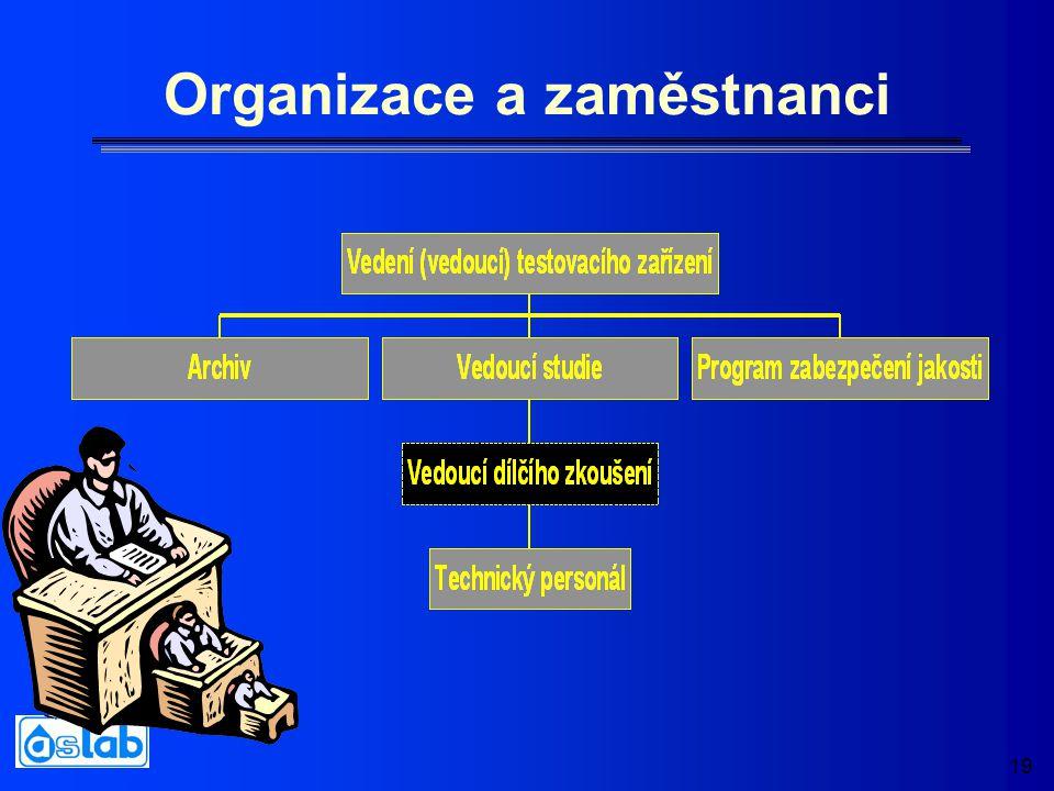 19 Organizace a zaměstnanci