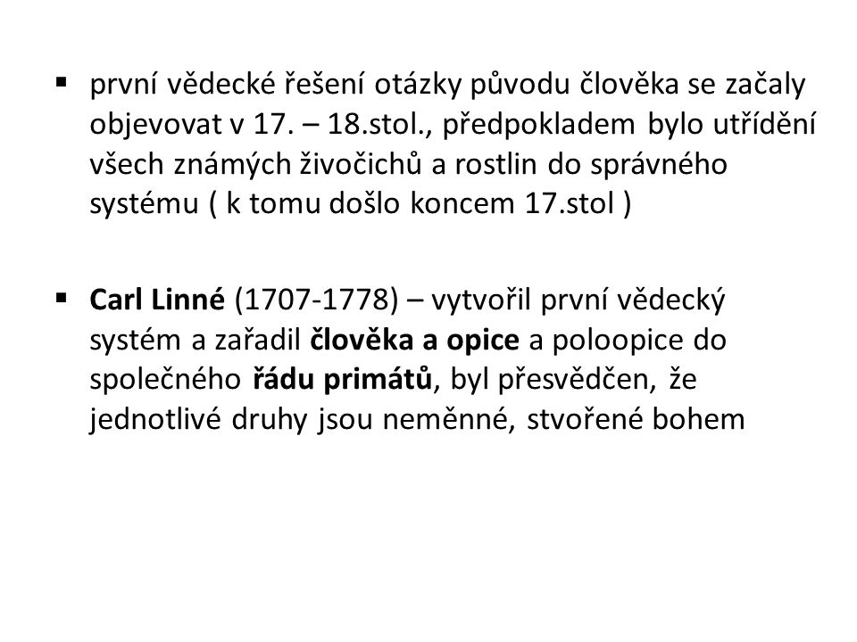 K. Linné