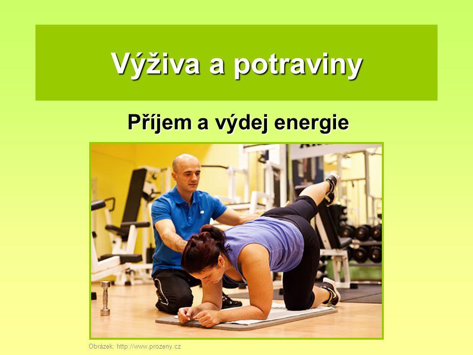 Výživa a potraviny Příjem a výdej energie Obrázek: http://www.prozeny.cz