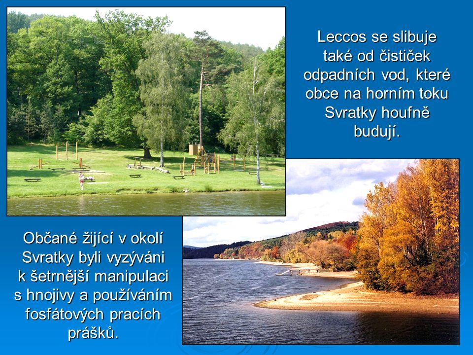 Občané žijící v okolí Svratky byli vyzýváni k šetrnější manipulaci s hnojivy a používáním fosfátových pracích prášků.