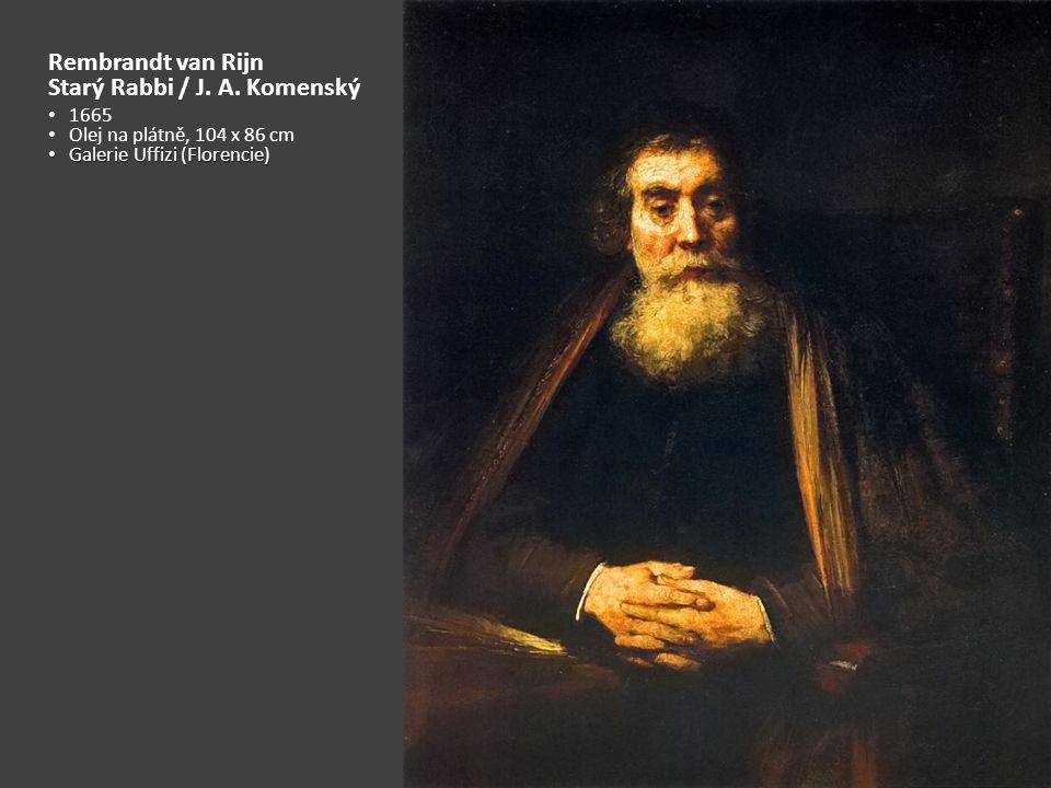 Rembrandt van Rijn Starý Rabbi / J.A.