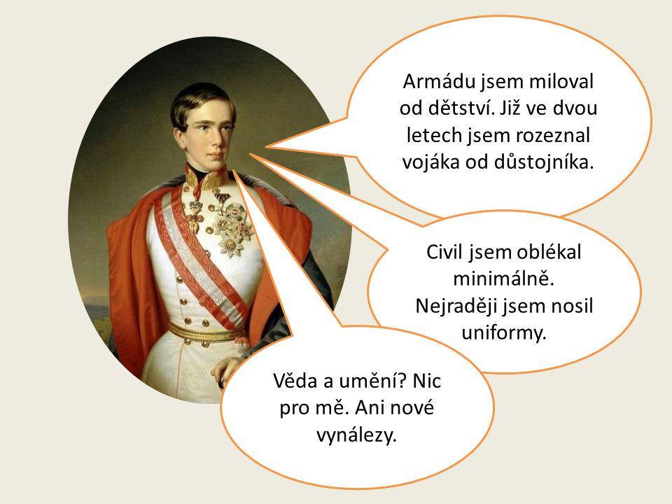 Arcibiskupský palác v Olomouci 2.prosince 1848 – v 18 letech se stal František Josef I.