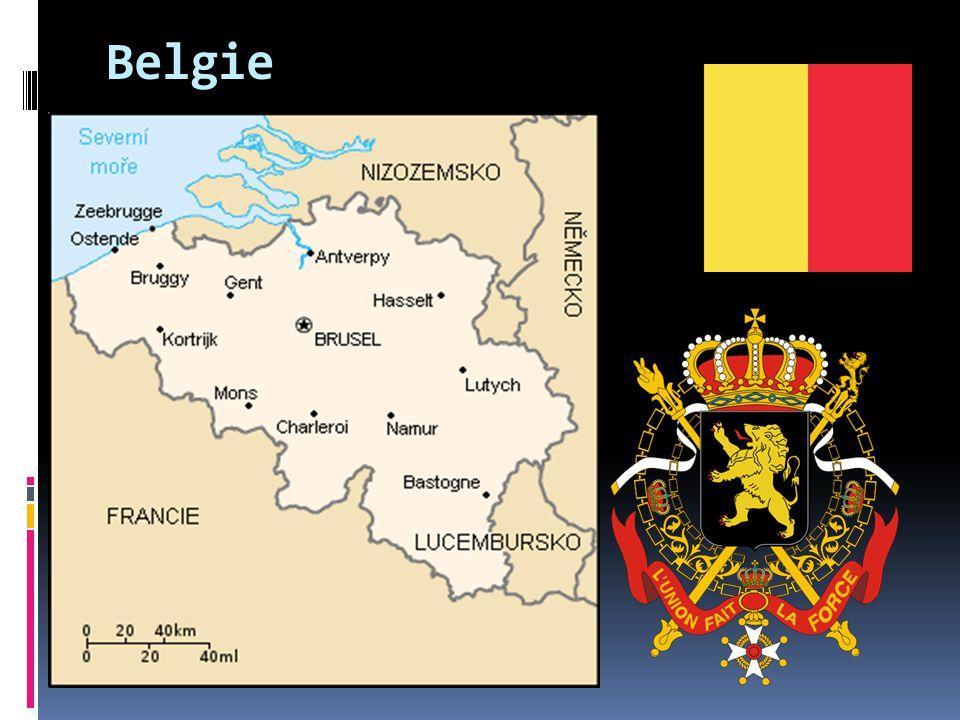 Belgie  oficiálně Belgické království  je federativní konstituční monarchie  Belgie je členskou zemí Evropské unie a Severoatlantické aliance (NATO