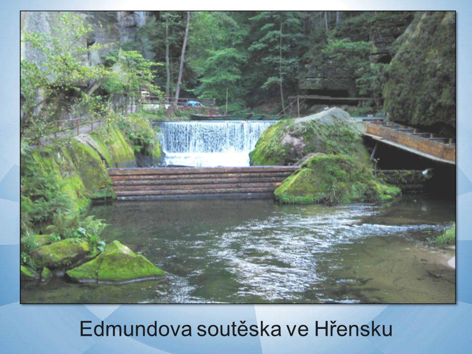Edmundova soutěska ve Hřensku