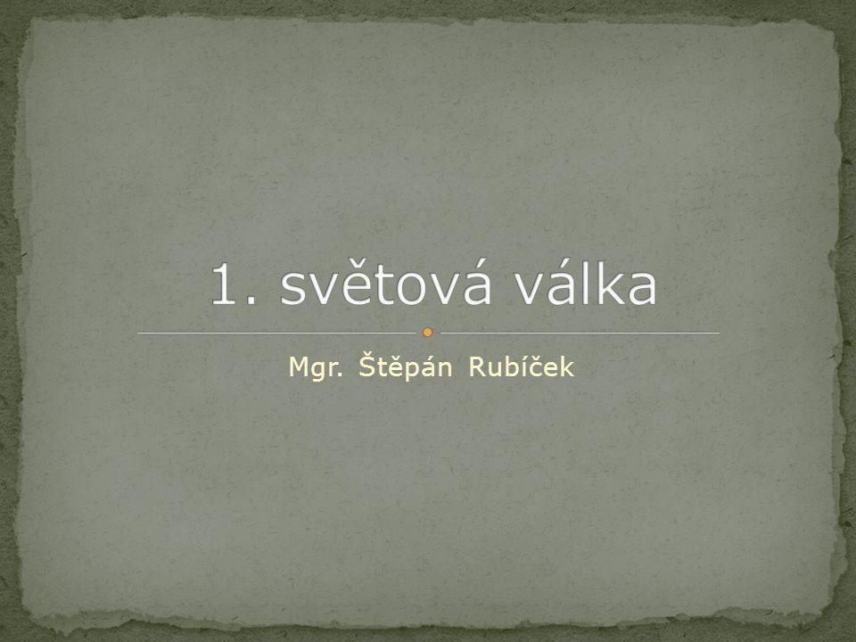 Mgr. Štěpán Rubíček