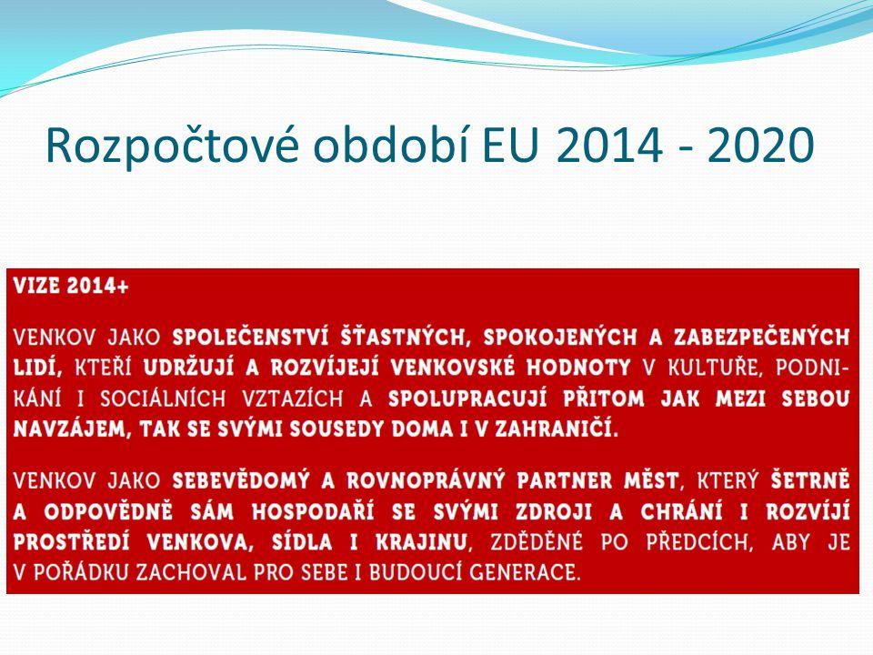 Rozpočtové období EU 2014 - 2020