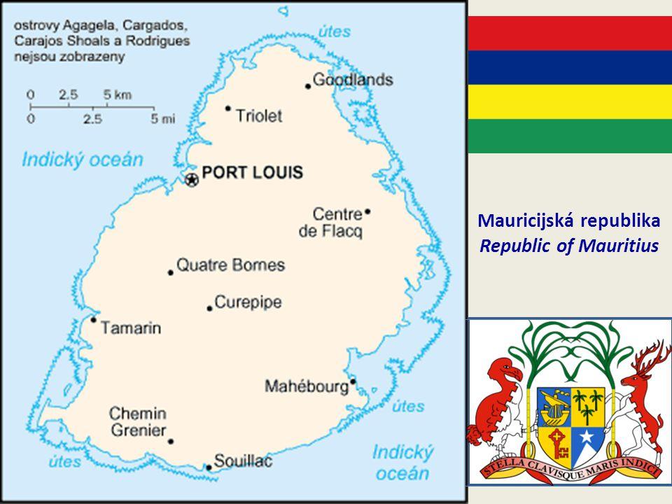 Panoráma Mauritia v oblasti Port Louis