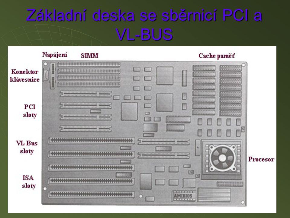 Základní deska se sběrnicí PCI a VL-BUS
