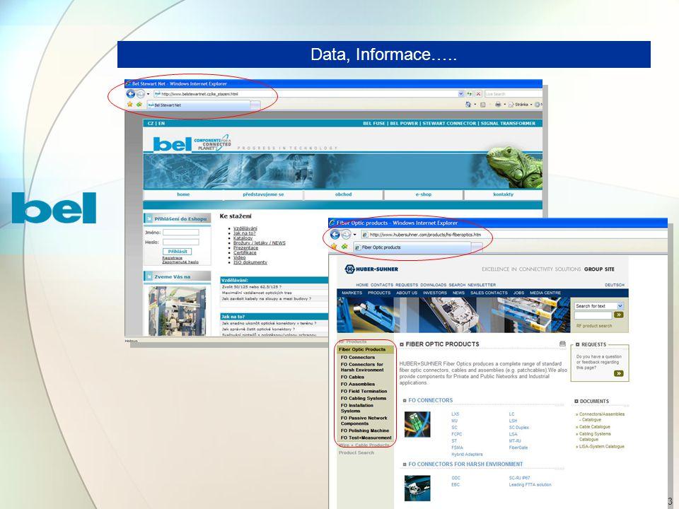 23 Data, Informace…..