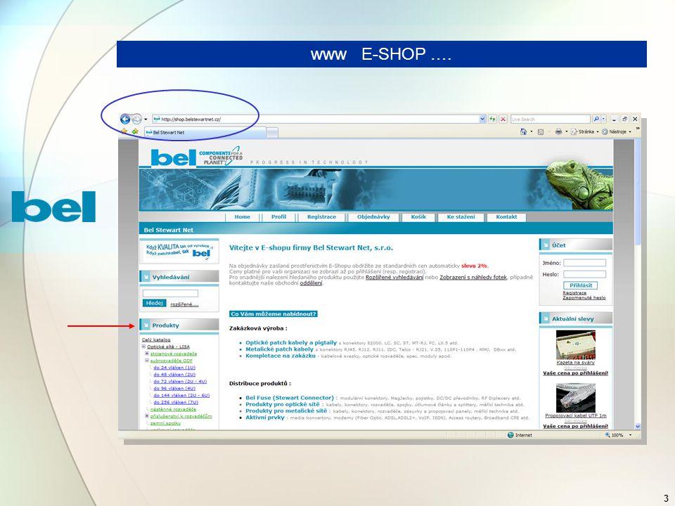 3 www E-SHOP ….