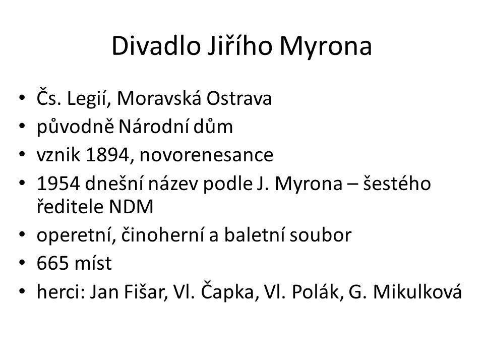 Divadlo Jiřího Myrona Čs.