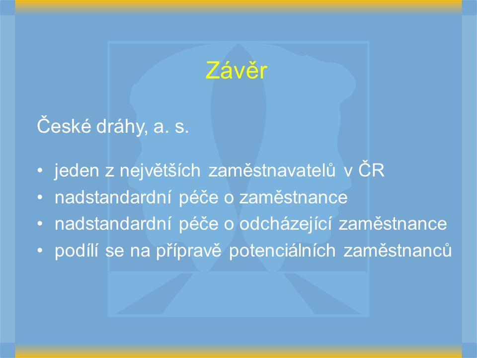 Závěr České dráhy, a.s.