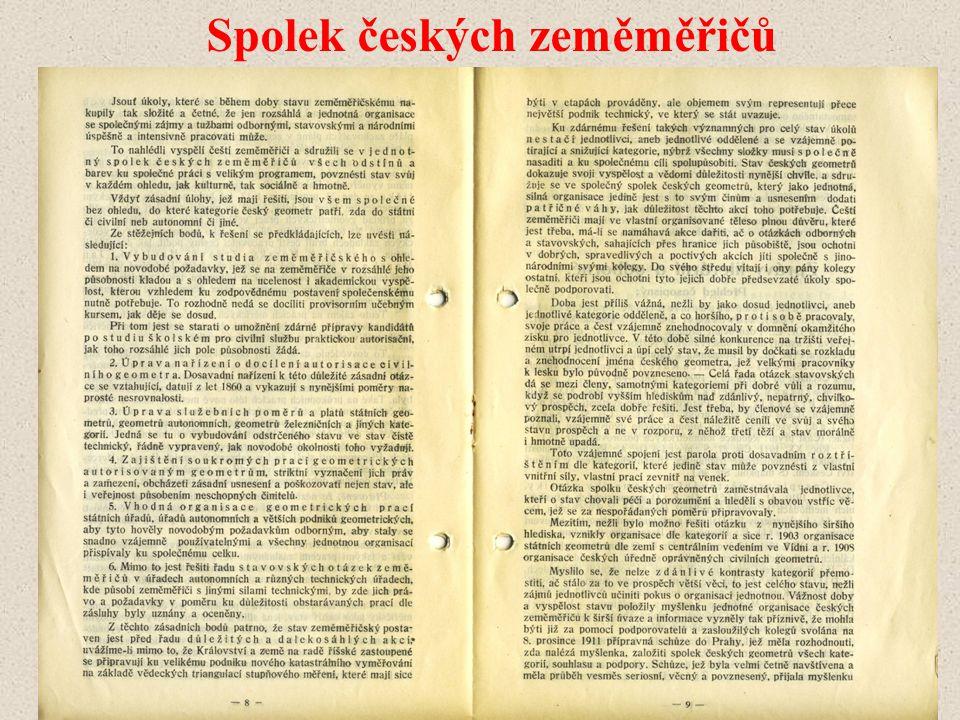 Spolek českých zeměměřičů