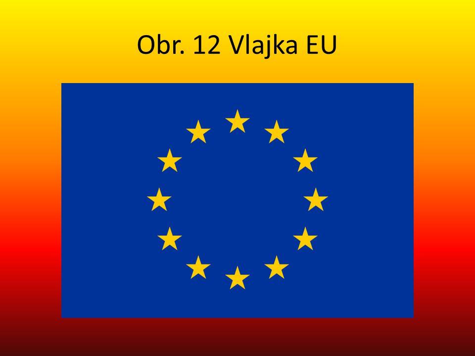 Obr. 12 Vlajka EU