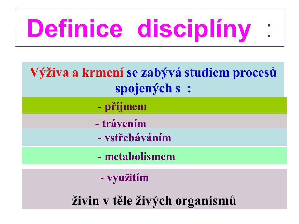 Doporučená literatura Čermák, B. a kol. (2002) : Základy výživy hospodářských zvířat JčU, České Budějovice, 200 s. Jeroch, H., Čermák, B. (2006): Zákl