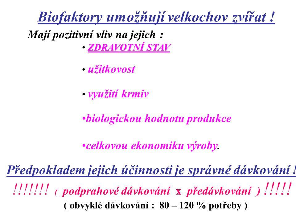 plní několik funkcí ( 8 ) : nutriční ( doplňkový zdroj živin a energie - aminokyseliny, mastné kyseliny a jejich soli) katalytické ( biokatalyzátory )