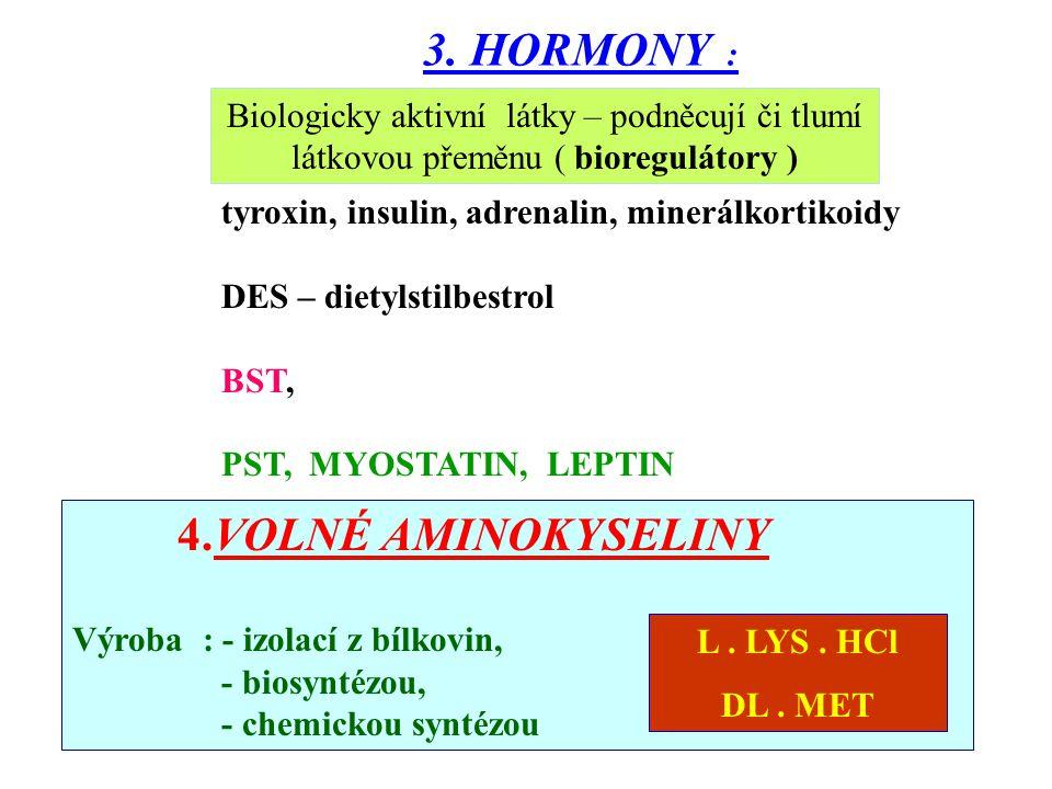 Látky bílkovinného charakteru – ovlivňují veškeré chemické přeměny látek a energie v živém organismu. Největší uplatnění – trávicí enzymy (proteázy, a