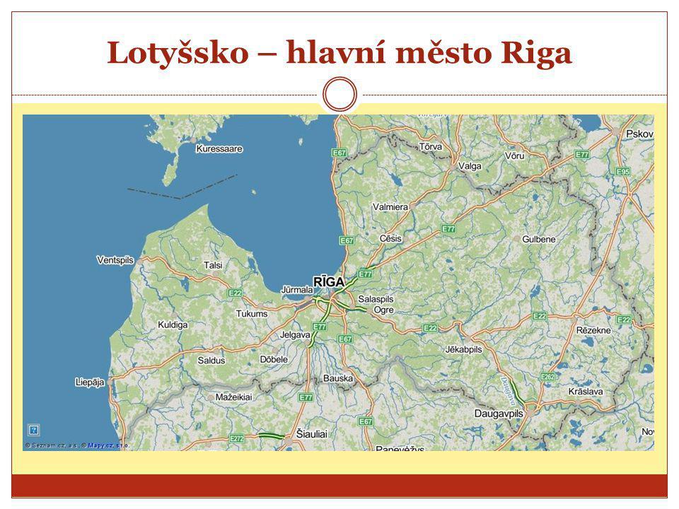 Lotyšsko – hlavní město Riga