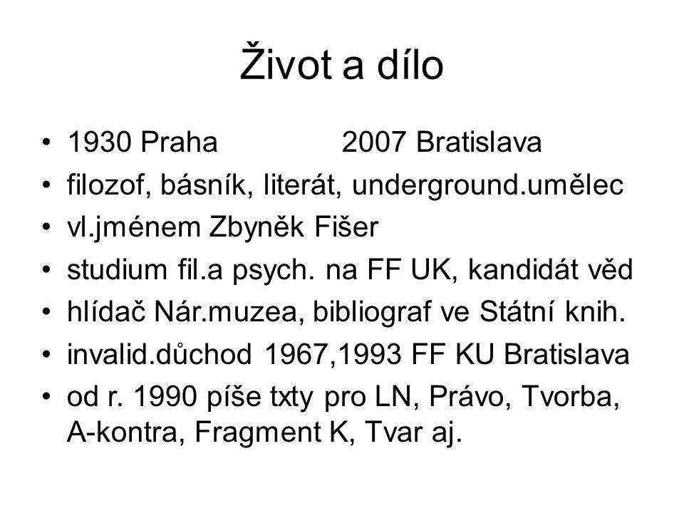 Odkazy a zajímavosti http://www.ceskatelevize.cz/porady/10097 91985-fiser-alias- bondy/499223100071003/http://www.ceskatelevize.cz/porady/10097 91985-fiser-alias- bondy/499223100071003/ http://ebondy.sweb.cz/ http://www.slovnikceskeliteratury.cz/showC ontent.jsp?docId=915http://www.slovnikceskeliteratury.cz/showC ontent.jsp?docId=915 http://egonbondy.info/