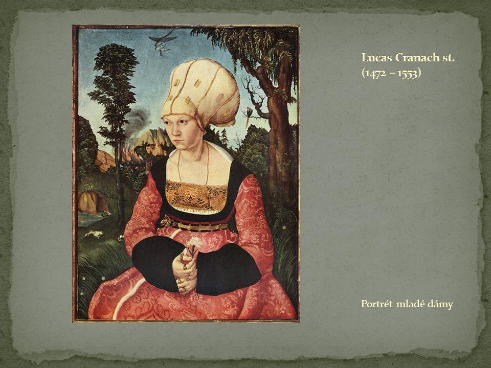 Portrét mladé dámy