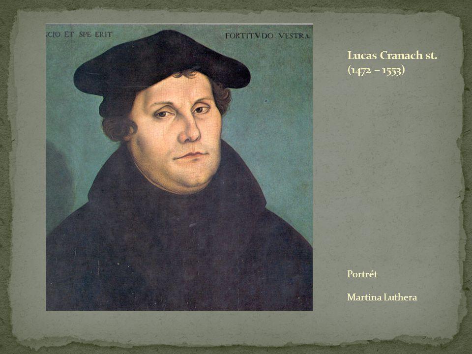 Portrét Martina Luthera