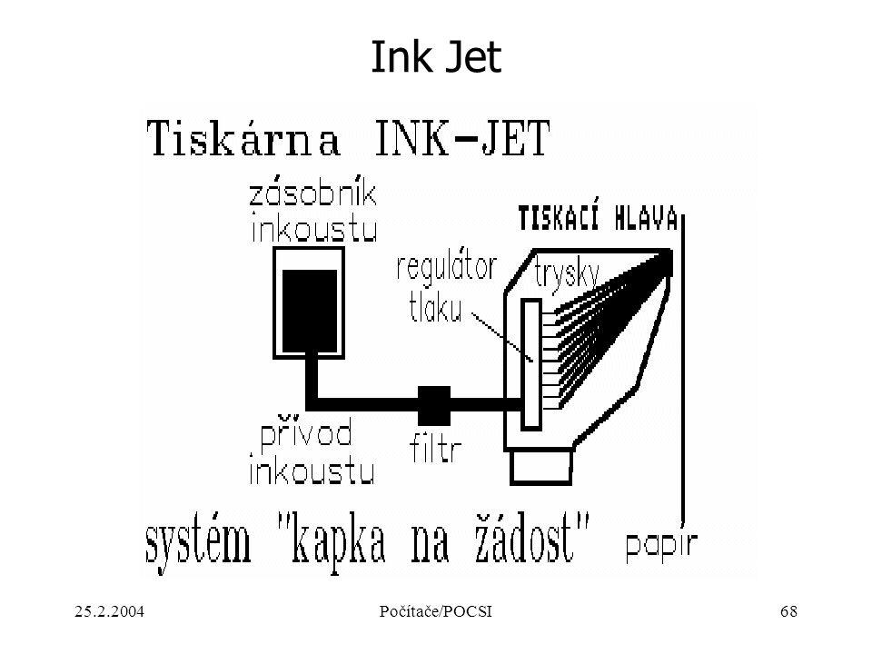 25.2.2004Počítače/POCSI68 Ink Jet
