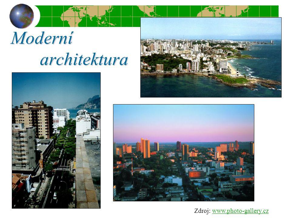 Moderní architektura Zdroj: www.photo-gallery.czwww.photo-gallery.cz