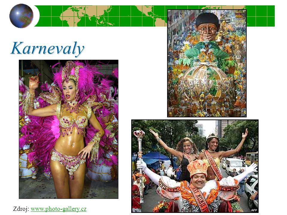 Karnevaly Zdroj: www.photo-gallery.czwww.photo-gallery.cz