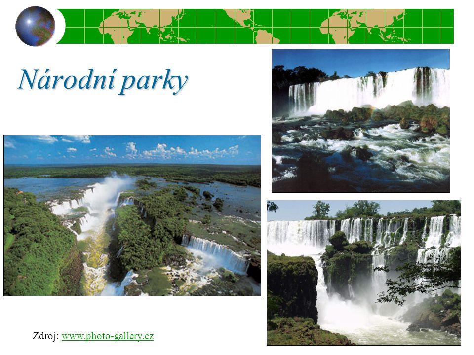 Národní parky Zdroj: www.photo-gallery.czwww.photo-gallery.cz