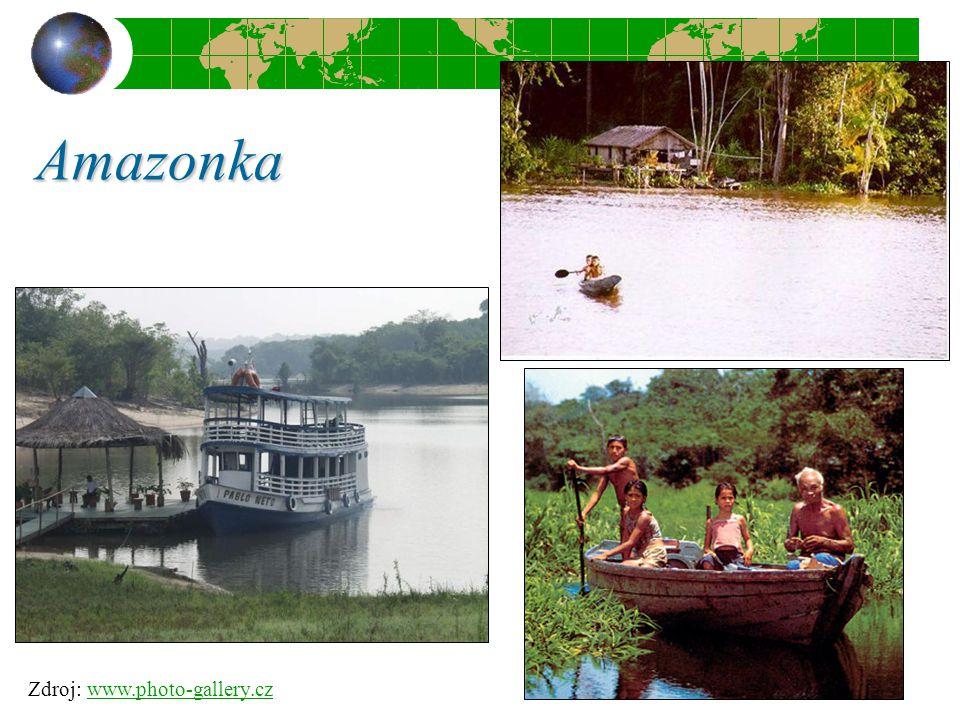 Amazonka Zdroj: www.photo-gallery.czwww.photo-gallery.cz