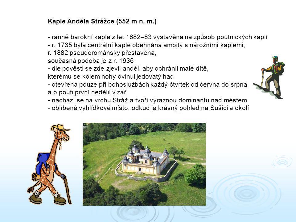 Kaple Anděla Strážce (552 m n.