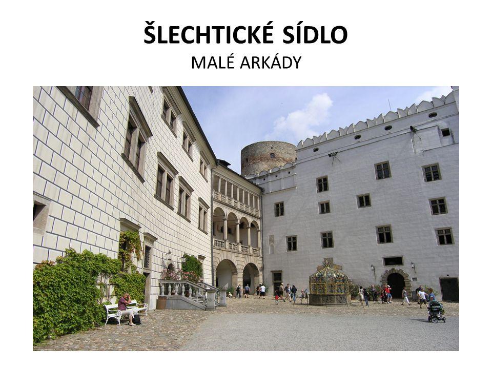 ŠLECHTICKÉ SÍDLO MALÉ ARKÁDY