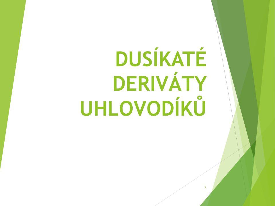 DUSÍKATÉ DERIVÁTY UHLOVODÍKŮ 2