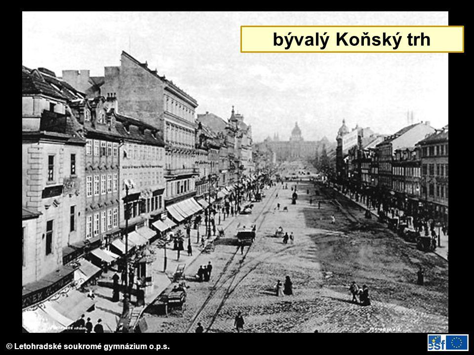 © Letohradské soukromé gymnázium o.p.s. bývalý Koňský trh