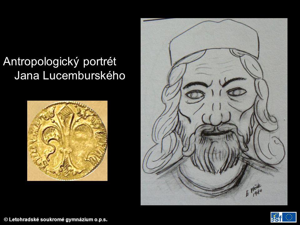 Antropologický portrét Jana Lucemburského