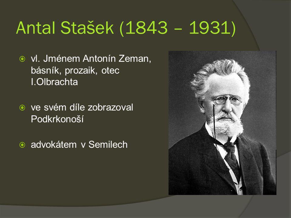 Antal Stašek (1843 – 1931)  vl.
