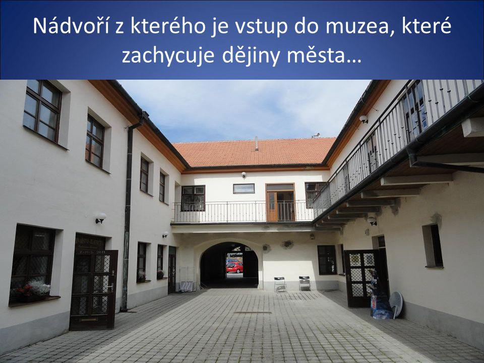 Budova kde sídlí městské Muzeum včetně jiných institucí …..