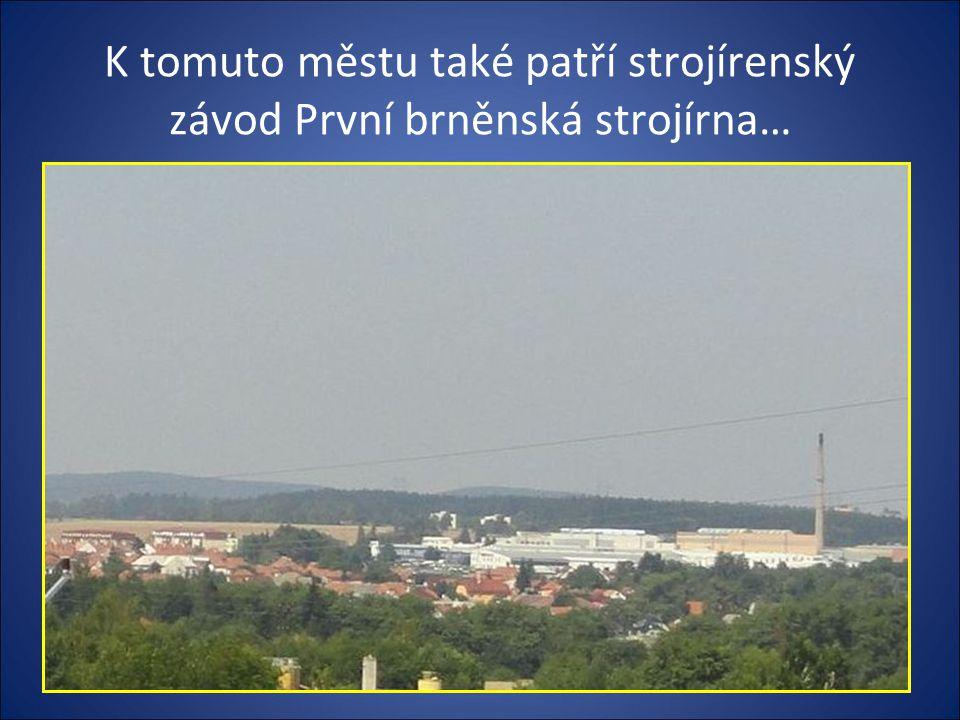 Pohled při výjezdu z města směr Žďár