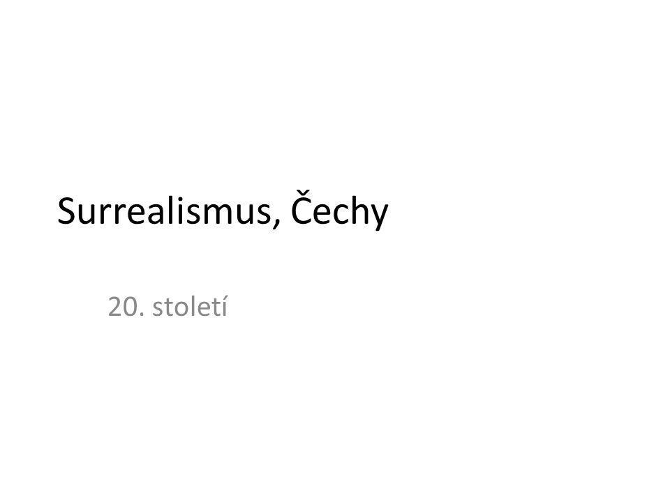 Surrealismus, Čechy 20. století