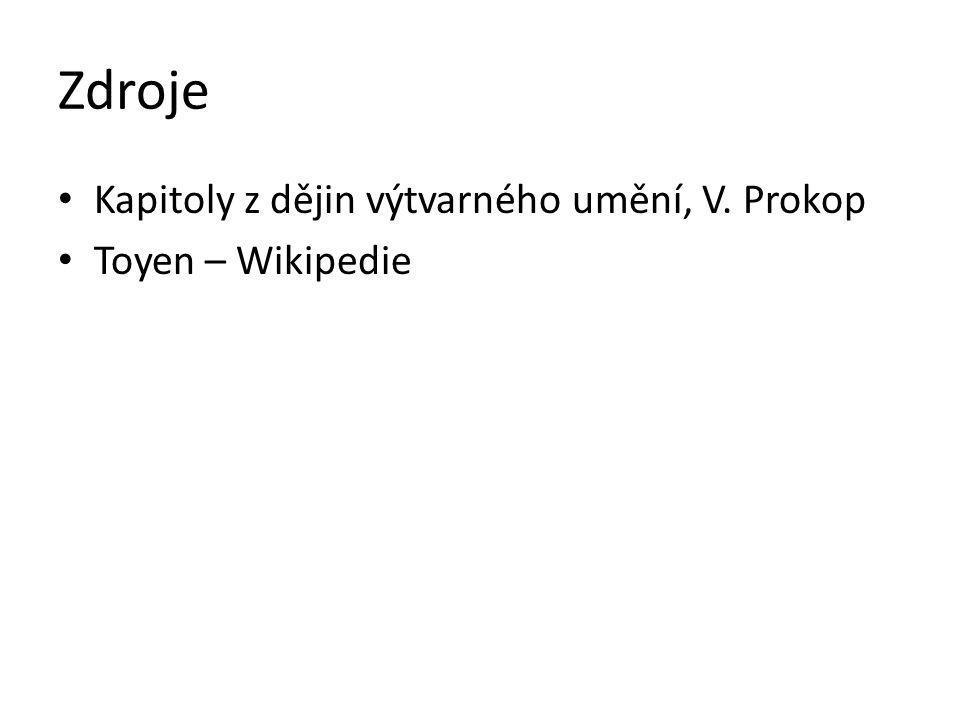 Zdroje Kapitoly z dějin výtvarného umění, V. Prokop Toyen – Wikipedie