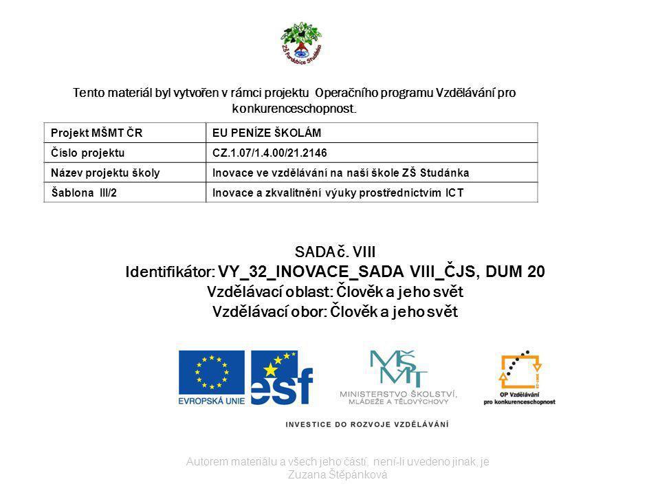 Název:Liberecký kraj Autor:Zuzana Štěpánková Stručná anotace:Poznávání míst Libereckého kraje.