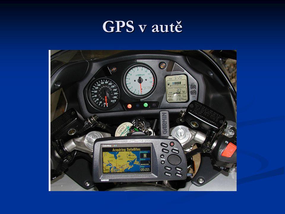 GPS v autě