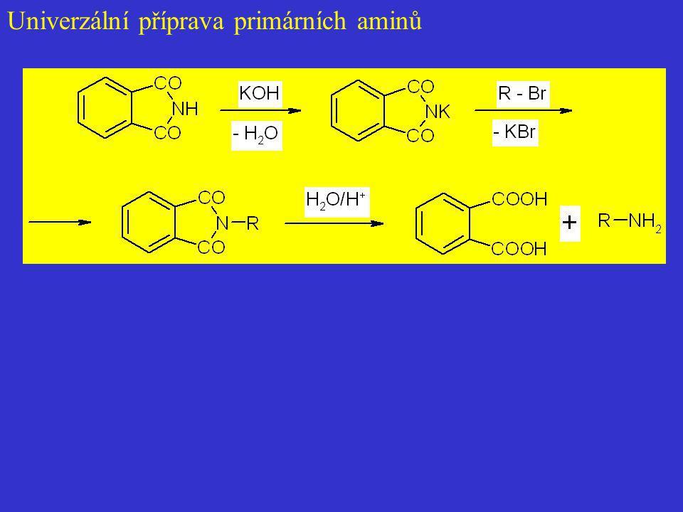 Univerzální příprava primárních aminů