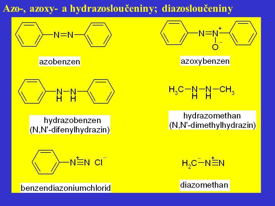 b) reakce s karbonylovými sloučeninami