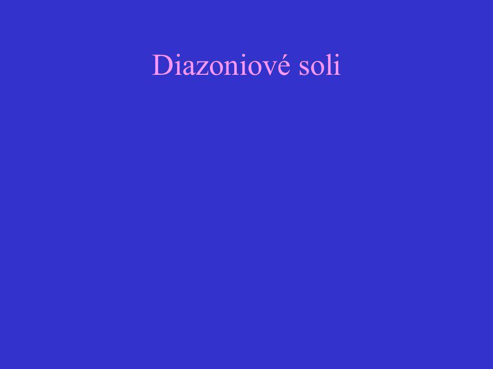 Diazoniové soli