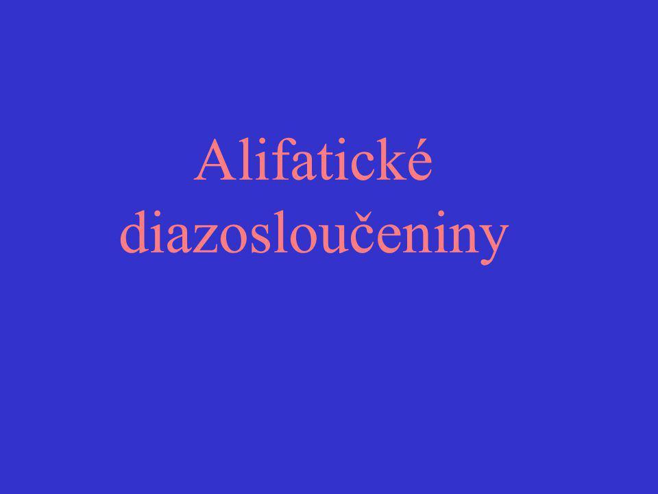 Alifatické diazosloučeniny
