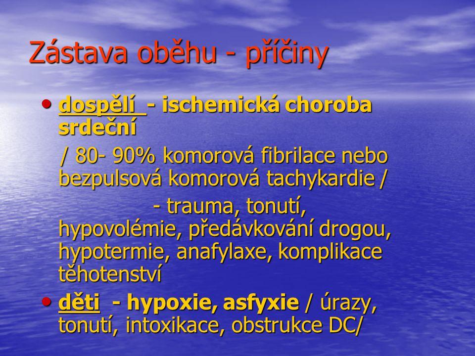A - dýchací cesty zajištění dýchacích cest zajištění dýchacích cest vzduchovod vzduchovod laryngeální maska laryngeální maska tracheální intubace tracheální intubace COPA, kombirourka COPA, kombirourka koniotomie /minitrach, quicktrach/ koniotomie /minitrach, quicktrach/