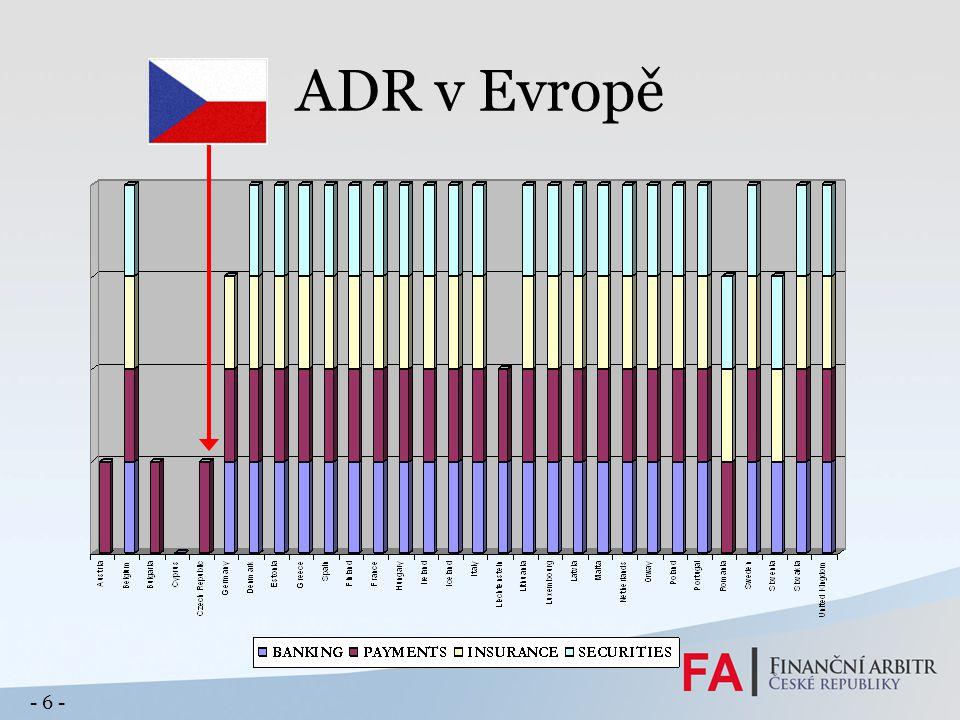 ADR v Evropě - 6 -