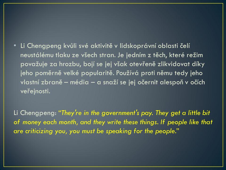 Stojí za přečtení: China, Demolished: Forced Evictions and the Tenants Rights Movement in China http://books.google.cz/books?id=52lT218pZ7gC&pg=PA16&lp g=PA16&dq=demolition+hunan+province&source=bl&ots=tIYFB bgXUZ&sig=5VgHxxQGftK7zXL81_- jjozal44&hl=cs&sa=X&ei=i- KcUcfpLsGXPYXMgcgP&ved=0CHcQ6AEwBw#v=onepage&q=d emolition%20hunan%20province&f=false