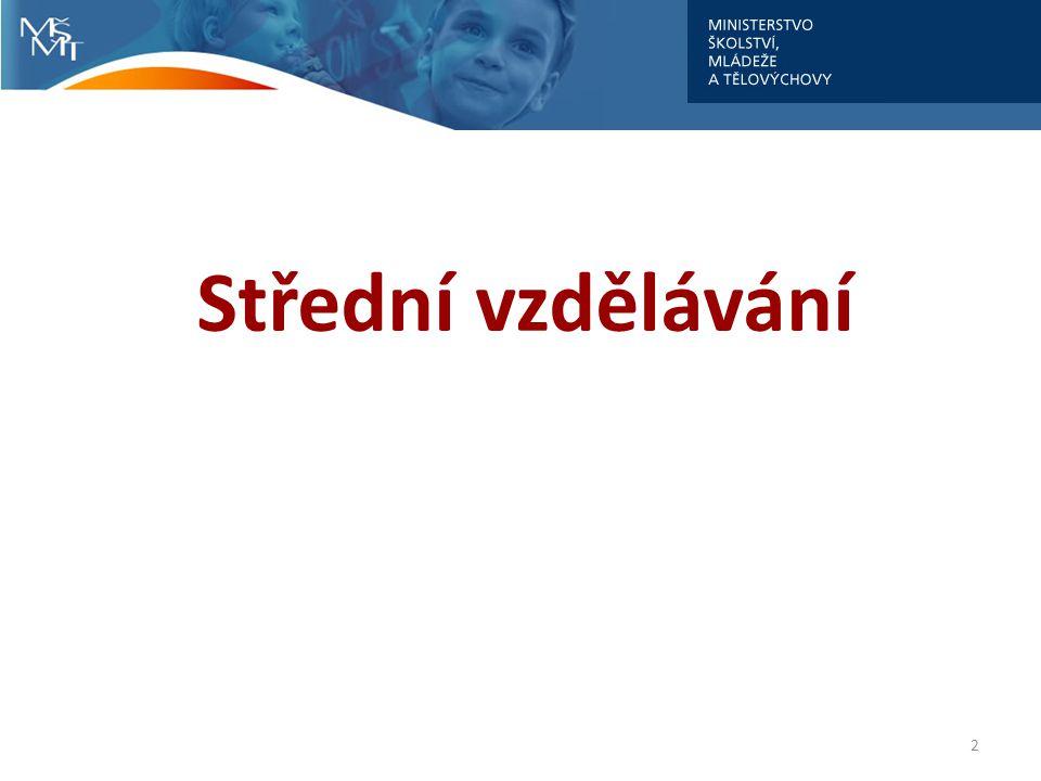 Střední vzdělávání 2